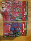 Lot of 4 Giant Christmas Bags 36 in x 44 in Retail $8