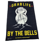 Gym Sweat Microfiber Sports Towel Bodybuilding Funny - Grab Life By The Bells