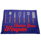 Kitchen Cooking Tea Towels - Choose Your Weapon Kitchen Knives Cooking Cleaning