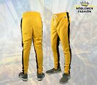MEN HIPSTER  TECHNO TRACK  PANTS  WITH SIDE COLOR STRIPE PANTS