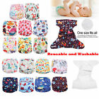 Washable Baby Pocket Nappy Cloth Cover Adjustable Reusable Infant Kids Diaper