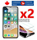 Premium Tempered Glass Screen Protector for iPhone XS XR 11 11 Pro Max (2 Pack) <br/> For iPhone 5S SE 6 6s 7 8 Plus X Xs 11 Pro  - 2 Pieces
