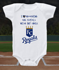 Kansas City Royals Onesie Bodysuit Shirt Love Watching WIth My Uncle on Ebay
