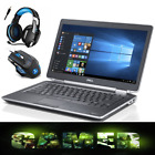 "Fast Gaming Laptop Core I5 Dell Latitude Intel 2.5 Ghz 14.1"" Screen-upto 1tb Hdd"