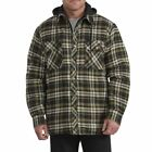 Dickies Men's Relaxed Fit Icon Hooded Quilted Shirt Jacket Style # TJ201 PET