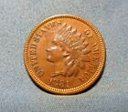 1881 Indian Hear Penny, Indian Head Cent 1881