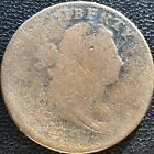 1797 Large Cent Draped Bust One Cent Reverse Of 1795 S120a Circulated #7581