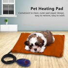 Waterproof Pet Bed Mats Heating Pad Electric Warmer Thermal For Dogs Cats Chew