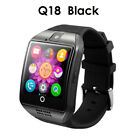Q18 GT08 DZ09 Bluetooth Smart Watch For Android iOS iPhone Apple GPRS SIM Gifts