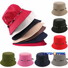 Men Women Bucket Hat Summer Fishing Fisher Camping Holiday Festival Boonie Caps