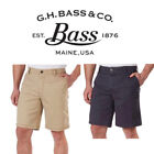 G.H. Bass & Co. Stretch Cargo Shorts with Flex Waistband, Variety Sizes & Color