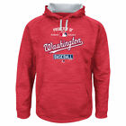 Washington Nationals Men's Majestic Batting Practice Hoodie - Free SHIPPING!