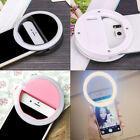 Portable Clip Fill Light Selfie LED Ring Photography for iPhone Android Phone S