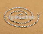 Pure S925 Sterling Silver Retro Glossy High Section Men's Classic Chain Necklace