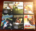 NEW Lot of 6 Billy Blanks DVD's - Boot Camp Tae Bo Power Rounds NIP