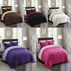 Down Alternative Comforter Set All Season Reversible Comforter Soft Breathable image