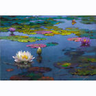 Canvas Painted Painting Wall Victor Nizovtsev Under Pond at Dusk Multi SizesD049