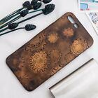 """Hand-Drawing Painting """"Mechanic""""Leather Iphone Case orther Handphone Available"""