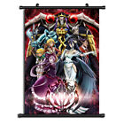 Overlord Anime HD Canvas Print Wall Poster Scroll Home Decor Cosplay