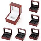 Kyпить US Wooden Display Box for World Series Cup Championship Ring 1/3/4/5/holes Hot на еВаy.соm