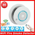 WiFi Fire Smoke Detector Wireless Voice Warning App Control Gas Monitor Alarm GF