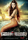 Pirates of the Caribbean On Stranger Tides 5 Movie Poster Canvas Picture A4 - A0