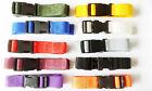 2 XQuick Release Luggage Straps 25mm Webbing Golf Trolley Suitcase Strap Length