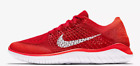 Nike Free RN Flyknit 2018 Running Shoes Red White 942838-601 $120 Mens 10->13