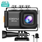 Onreal Action Camera Ultra HD 4K 20MP WiFi Sports Cam 170 Degree Wide-angle