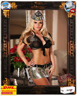 Sexy 6tlg.Militär Army Outfit Soldier Girl Set Outfit Kostüm Provocative Dessous