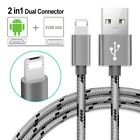 2 in 1 charger for iPhone and android (PRE ORDER)