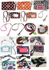 Vera Bradley LANYARD Clip/Key Ring or ZIP ID or BOTH - U Choose Design New