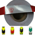 Arrow Reflective Tape Truck Bicycle Safety Caution Warning Adhesive Sticker Soft
