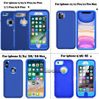For iPhone 5S SE 5C 6S 8 7 Plus XR Phone Case Hybrid Shockproof Armor Hard Cover