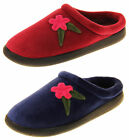 Ladies Coolers Ultra Lightweight Outdoor Sole Floral Slippers Size 4 5 6 7 8