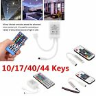 10/17/40/44Key Mini IR Remote Controller For 3528 5050 RGB/RGBW LED@trip Ligh@T