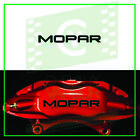 4X MOPAR DODGE RACE DECAL STICKER FOR CALIPER - HIGH QUALITY REPRODUCTION BRAKE $11.99 CAD on eBay