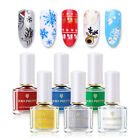 BORN PRETTY 6ml Stamping Polish Christmas Series Pure Tips Nail Art Varnish