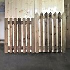 Wooden Garden Picket Gate Treated High Quality 900mm Wide 3ft - 4ft High