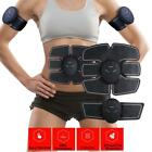 Electric Muscle Toner EMS Machine Wireless Toning Belt 6 Six-Pack Abs Fat Burner image