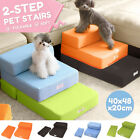 Portable Dog Steps 2 Steps Pet Stairs Small Dogs Cats Ramp Ladder For High Bed