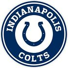 "Indianapolis Colts NFL Color Vinyl Decal Sticker - You Choose Size 2""-28"" $4.99 USD on eBay"