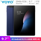 """Voyo i8 9.7"""" IPS Screen 2K Android 8.0 4G 64GB Dual Band WIFI 4G Phone Tablet PC"""