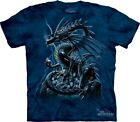 Skull Dragon T-Shirt by The Mountain. Fantasy Tee Sizes S-5XL NEW image