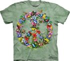 Butter Dragon Peace T-Shirt by The Mountain. Butterflies Dragonflies  S-5XL NEW image