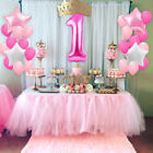 Внешний вид - US!1st Happy Birthday Boy Girl Baby Shower Confetti Balloon Party Decoration Set