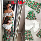 Mother Daughter Holiday Clothes Parent-child Bohemia cute dress Family Matching
