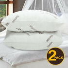Memory Foam Pillow Shredded 2 Pack Hypoallergenic Bed Version Queen King Bamboo image