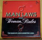 MAN LAWS AND WOMAN RULES GAME NEW Free Shipping!!