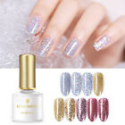 BORN PRETTY 6ml Gold Glitter Soak Off UV Gel Sequins Shimmer Nail Art